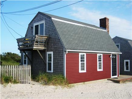 East Sandwich Cape Cod vacation rental - Second story balcony facing the ocean.