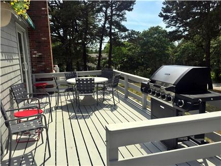Wellfleet Cape Cod vacation rental - Side Deck