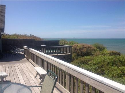 Eastham Cape Cod vacation rental - Enjoy panoramic water views from the spacious deck and hot tub