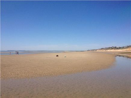 Eastham Cape Cod vacation rental - Wade in the sandy shallows at low tide
