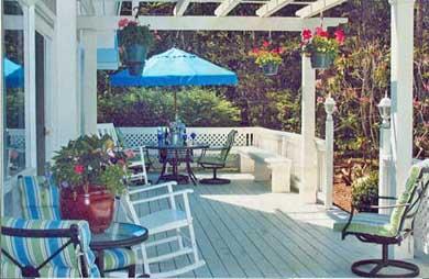 New Seabury New Seabury vacation rental - Front deck