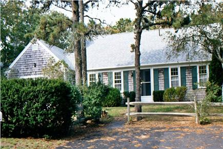 South Chatham Cape Cod vacation rental - Front view of home