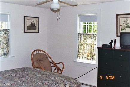 South Chatham Cape Cod vacation rental - Master Bedroom with A/C unit.