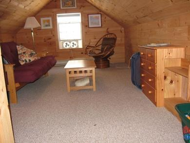 South Chatham Cape Cod vacation rental - Upstairs Common Area with A/C unit