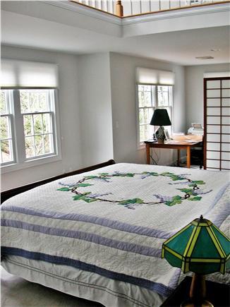 Cotuit Cotuit vacation rental - 2-story master bedroom with loft, plus office/desk area & WiFi