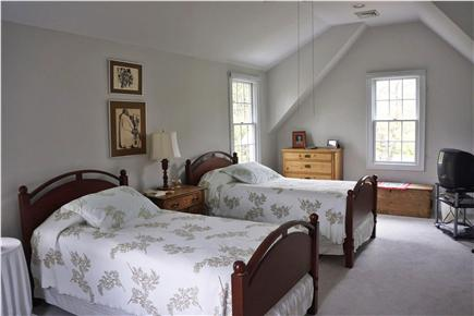 Cotuit Cotuit vacation rental - Guest bedroom with 3 beds (2 showing here) plus private bath