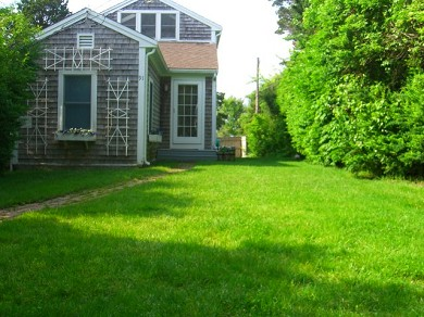 Barnstable Cape Cod vacation rental - The street view of the private and serene house.