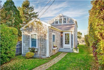 Barnstable Cape Cod vacation rental - The street view of the private and serene house (during Fall).
