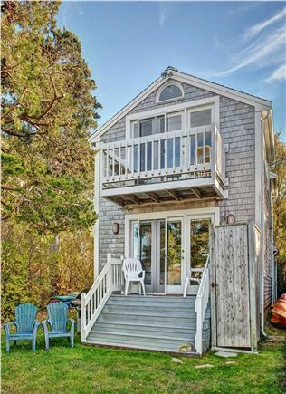 Barnstable Cape Cod vacation rental - Ocean side view of house (during Fall).