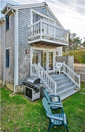 Barnstable Cape Cod vacation rental - Ocean side of house (during Fall season).