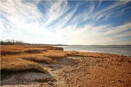 Barnstable Cape Cod vacation rental - Private beach at low tide.  10-12 ft difference between low/high.