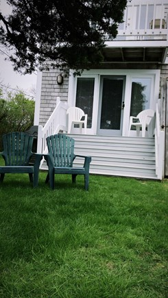 Barnstable Cape Cod vacation rental - Relax in the yard and watch the boats sail on by!