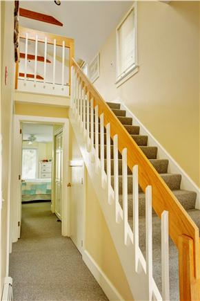 Barnstable Cape Cod vacation rental - Stairs to main floor.