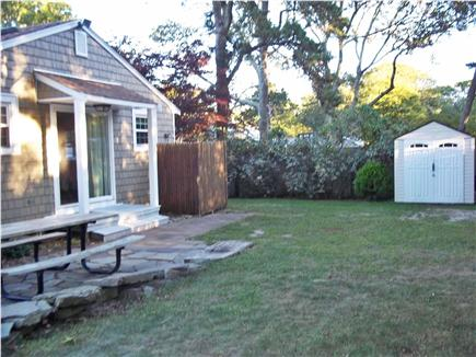 Dennis Cape Cod vacation rental - Backyard and outdoor shower