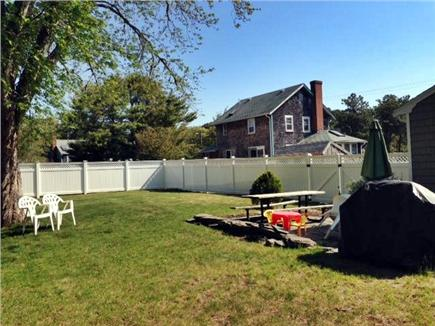 Dennis Cape Cod vacation rental - Big backyard for fun and relaxing