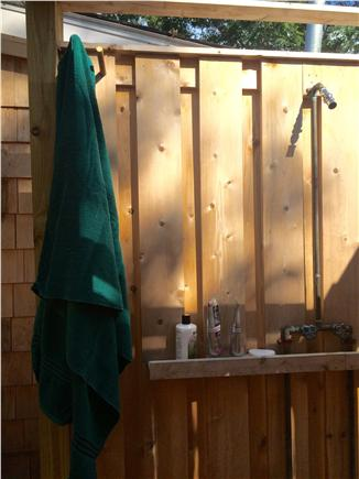 North Eastham Cape Cod vacation rental - Large outdoors shower
