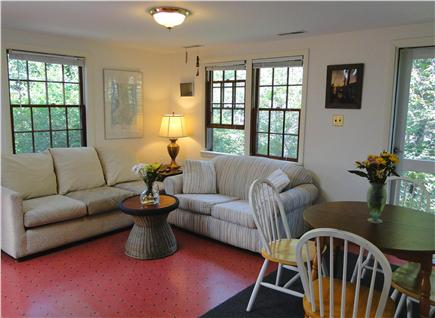 North Eastham Cape Cod vacation rental - Bright living room area