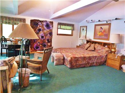 Mashpee Cape Cod vacation rental - Master Bdrm 1, king, double, peaceful, spacious, private bathrm