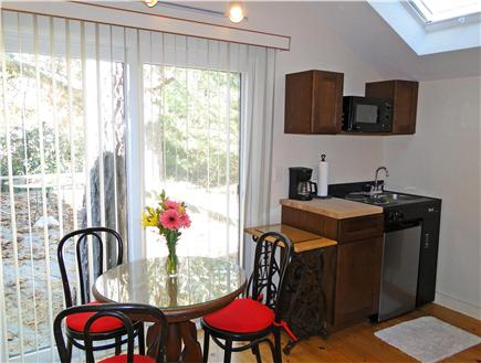 South Harwich Cape Cod vacation rental - Seating area, overlooking deck