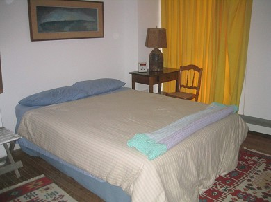 Provincetown Cape Cod vacation rental - Master bedroom, has small attached bath and queen size bed