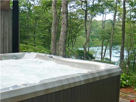 Brewster Cape Cod vacation rental - Relax after a long day in the 8 person Jacuzzi