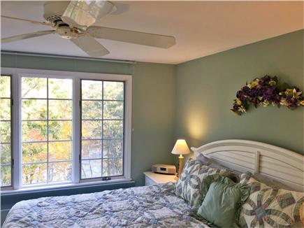 Brewster Cape Cod vacation rental - Upstairs King bedroom, lake view