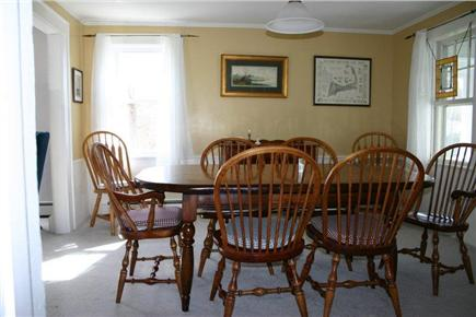 Dennis Cape Cod vacation rental - Dining room (table expands to easily seat 10)