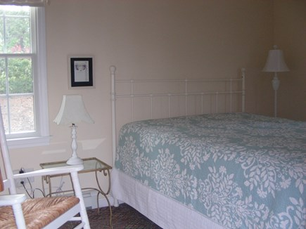 S. Chatham Cape Cod vacation rental - Large Master Bedroom w/queen bed, attached full bath and TV