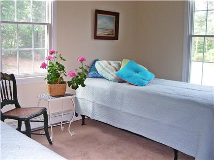 S. Chatham Cape Cod vacation rental - Large twin bedroom, two windows, sunlit