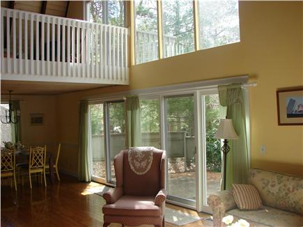 New Seabury New Seabury vacation rental - View of Sunny LR, DR, 2nd Floor Loft and Deck