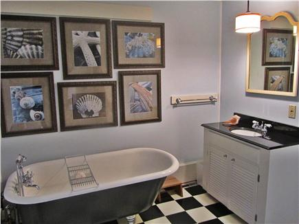 Chatham Cape Cod vacation rental - Remodeled bath w/ clawfoot tub