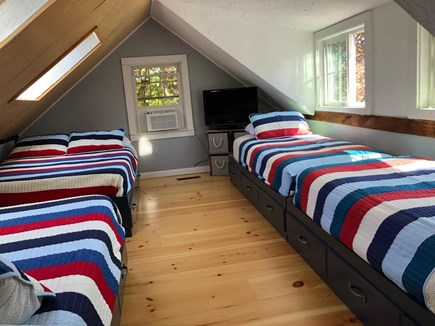 Chatham Cape Cod vacation rental - Fish Room - Bunk Room sleeps 6! (2 Full, 2 Twins) TV w/ Xbox
