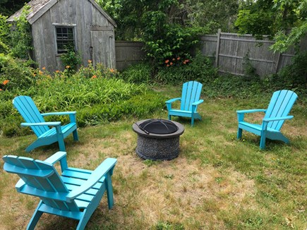 Chatham Cape Cod vacation rental - Backyard Fire Pit to enjoy s'mores and star gazing!
