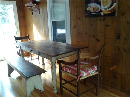 Cotuit Cotuit vacation rental - A/C Family Room Dining Table and Chairs