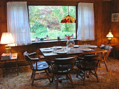 Brewster Cape Cod vacation rental - Dining room with seating for six