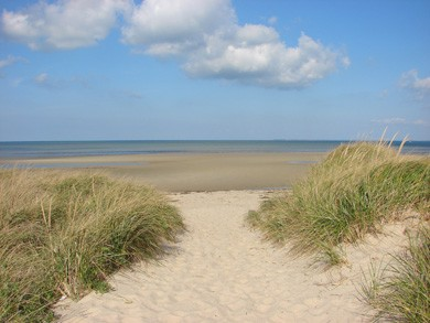 Brewster Cape Cod vacation rental - Walk five minutes to spectacular Crosby Beach - spend the day