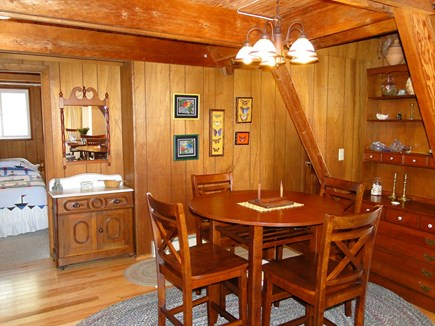 S. Chatham Cape Cod vacation rental - Smaller dining area, off kitchen. Great for puzzles and games!