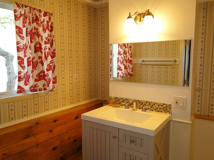 S. Chatham Cape Cod vacation rental - Downstairs bathroom with shower