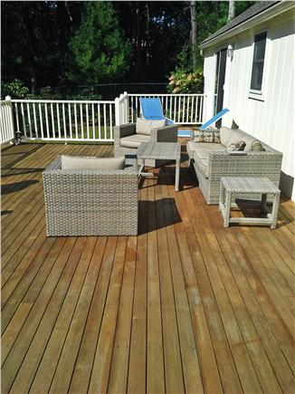 New Seabury New Seabury vacation rental - Large, sunny deck