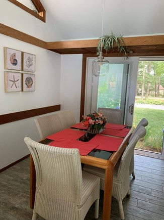 New Seabury Cape Cod vacation rental - Open dining area adjacent to the kitchen