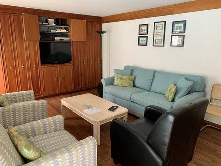 New Seabury Cape Cod vacation rental - Separate entertainment room with tv and stereo