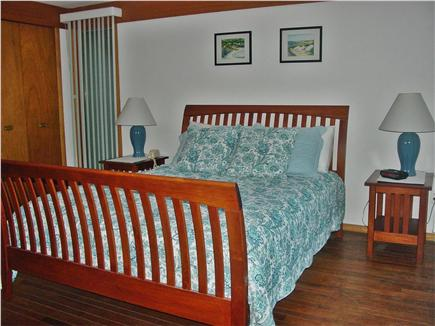New Seabury Cape Cod vacation rental - ''Blue'' Bedroom - one of 4 bedrooms, all have queen size beds