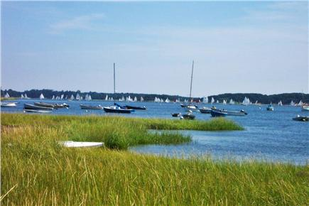 South Orleans Cape Cod vacation rental - Annual catboat race on the bay
