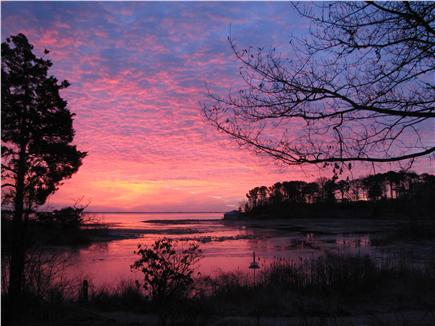 South Orleans Cape Cod vacation rental - Sunrise over the bay #2