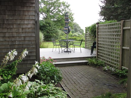 South Orleans Cape Cod vacation rental - Patio and deck