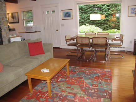 South Orleans Cape Cod vacation rental - Living Room and Dining Room