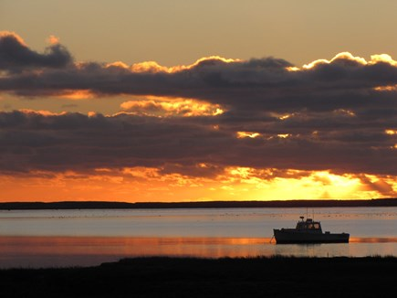 South Orleans Cape Cod vacation rental - Sunrise over the bay #1