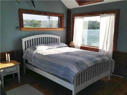 Plymouth MA vacation rental - Our cottage from acroos the harbor near the Mayflower
