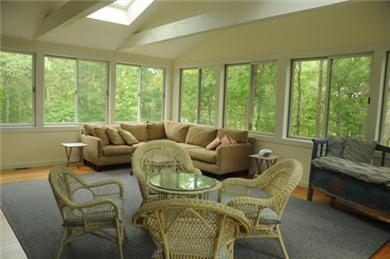 Barnstable Village  Cape Cod vacation rental - Enjoy a relaxing afternoon in the spacious sunroom