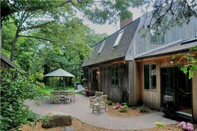 Barnstable Village  Cape Cod vacation rental - Enjoy a cookout on the backyard patio